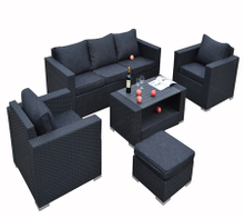 PAS-1301/ Outdoor Luxury Casual Rattan Patio Set Sofa Set