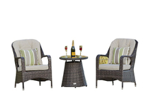 PAD-1009/3PCS Weather-Resistant Outdoor Rattan Bistro Dinning Set