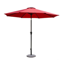 PAU-001-R/Outdoor Red Garden Market Umbrella