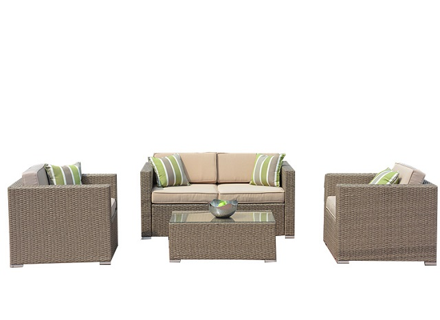PAS-044.2/Outdoor Economical Casual Rattan Cube Sofas